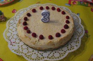 Ketogener Geburtstagskuchen
