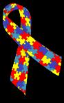 Autismus-Schleife